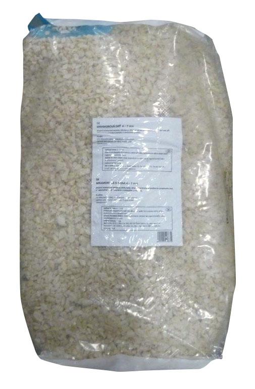 AGRO Mramorová drť 7 - 14 mm 30 kg
