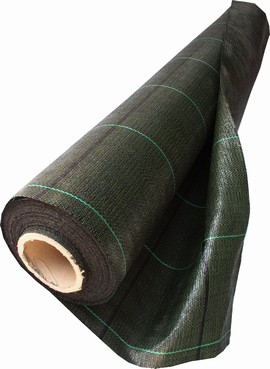 Tkaná školkařská textilie 100g 1,6x20m černá role