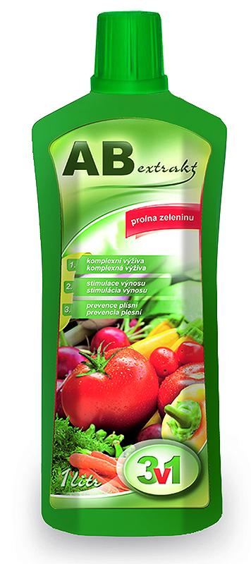 AB extra 3 v 1 pro zeleninu 1 l