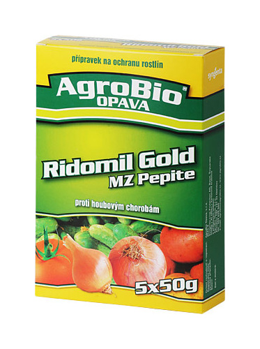 RIDOMIL GOLD MZ PEPITE 5x50 g