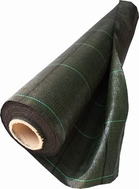Tkaná školkařská textilie 100g 4,20x100m černá R