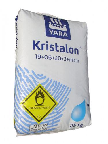 AGRO Kristalon Modrý 19-06-20+3MgO+ME 25 kg