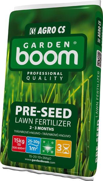 Garden Boom Pre-Seed 15-20-10+3MgO 15kg