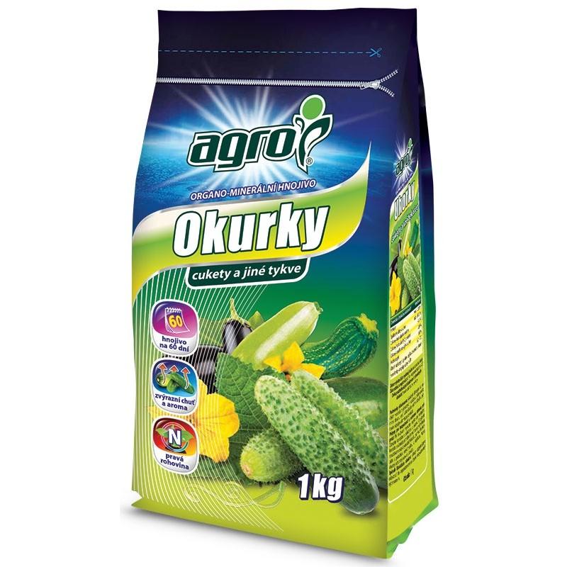 AGRO Organominerální hnojivo okurky a cukety 1 kg