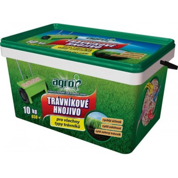AGRO Trávníkové hnojivo 10kg kbelík