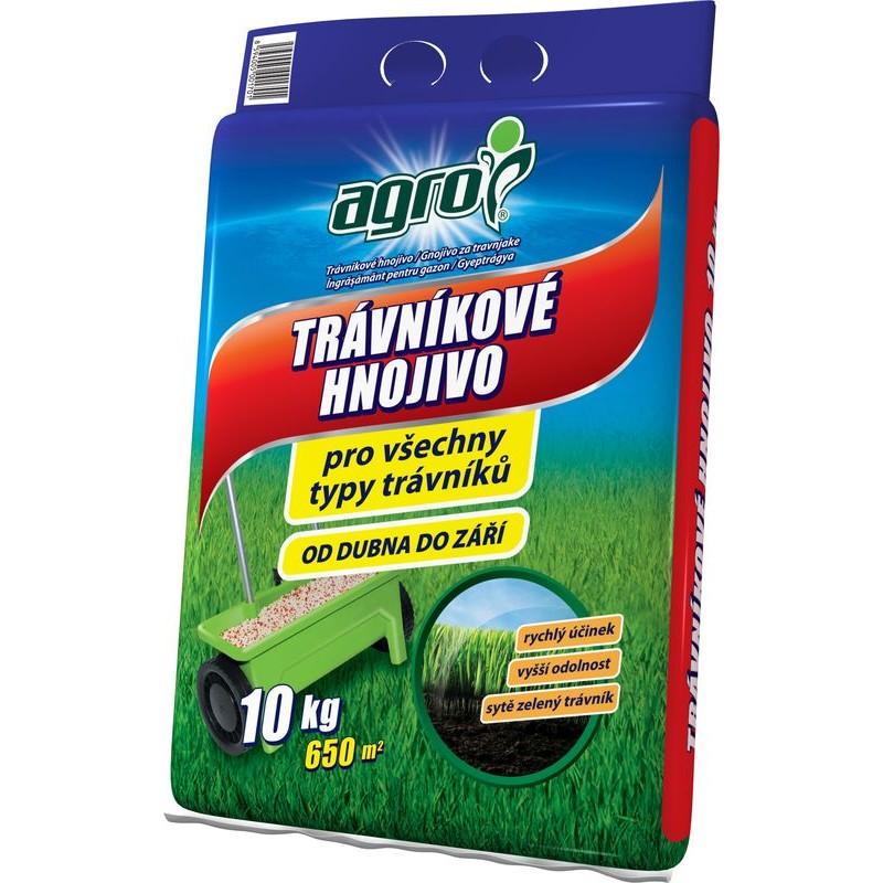 AGRO Trávníkové hnojivo 10 kg pytel