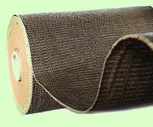 Tkaná školkařská textilie 100g 1,65x100m hnědá R