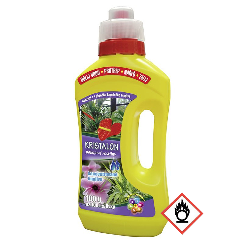 AGRO Kristalon Pokojové rostliny v lahvi 100 g