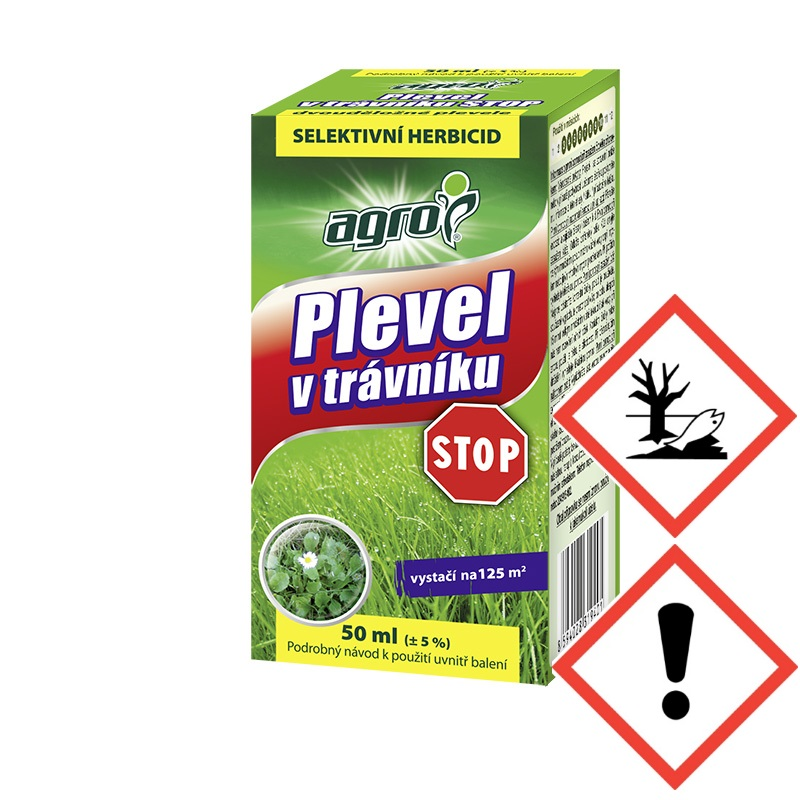 Levně AGRO CS AGRO Plevel v trávníku STOP 50 ml