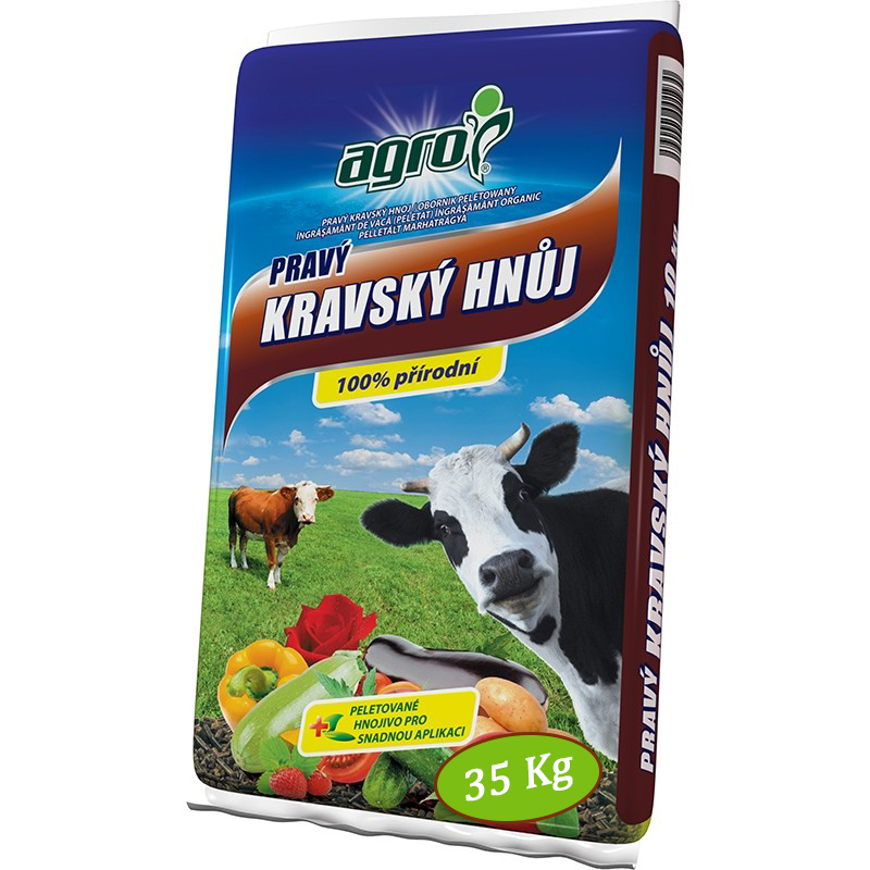 AGRO Kravský hnůj 35 kg