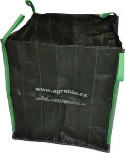 Vak na zahradní odpad 70x70x70cm- zelený