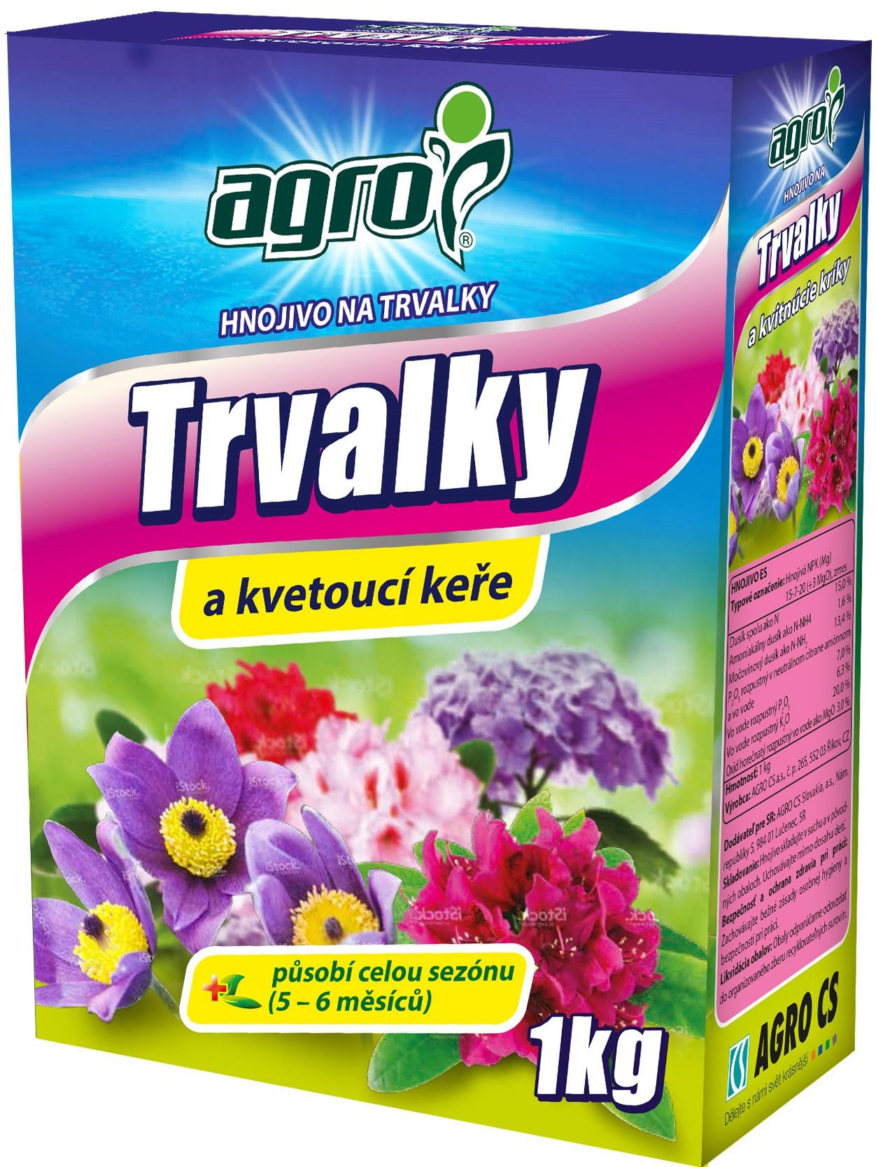 AGRO Hnojivo na trvalky 1 kg