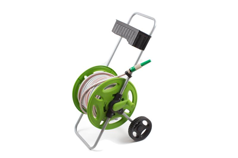 Vozík na zahradní hadici s hadicí 45m