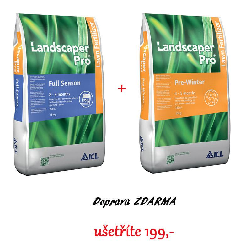 Landscaper Pro® - Minimální údržba