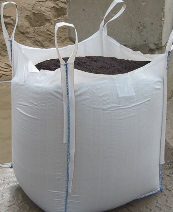 Vak na odpad 100/100/100 cm - bílý