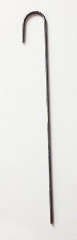 Kotvící skoba J k rohožím - balení 100 ks