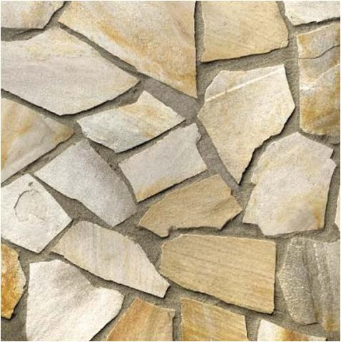 Nášlapné kameny (dlažba) Rula zlatohnědá 1m2