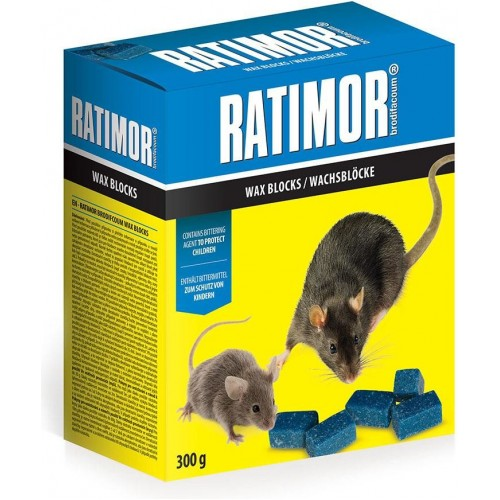 Ratimor-parafinové bloky 300 g krab.