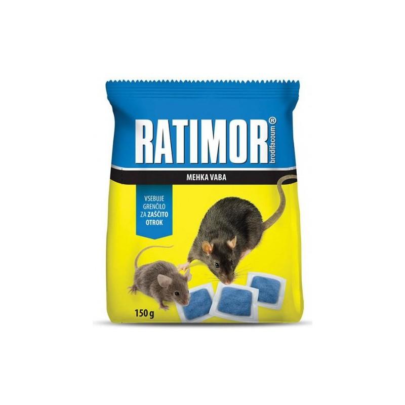 Ratimor-měkká nástraha 150 g sáček
