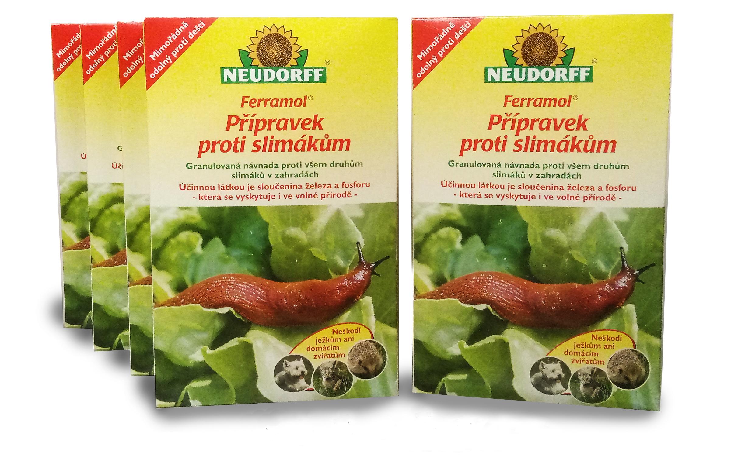 Neudorff Ferramol 5kg - přípravek proti slimákům