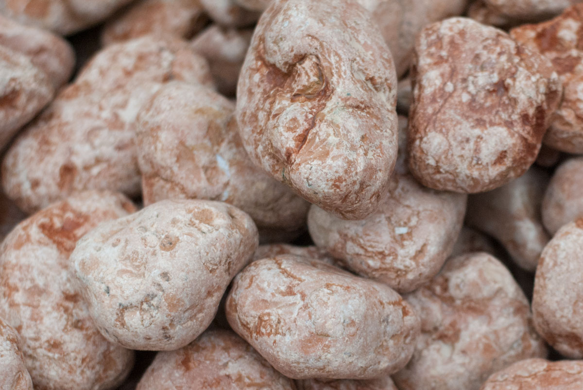 Okrasné kameny Rosso Verona 200/400mm 1kg