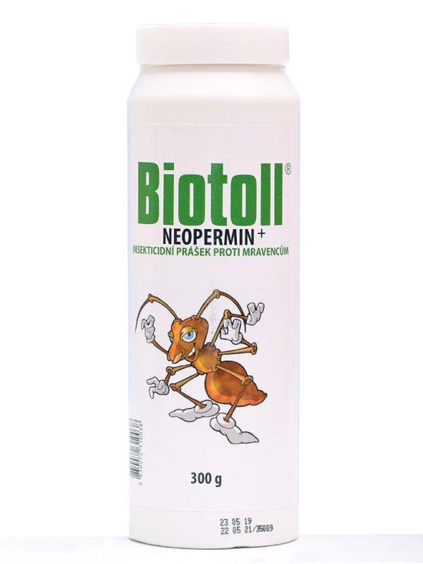Biotoll - Neopermin 300g (Prášek proti mravencům)