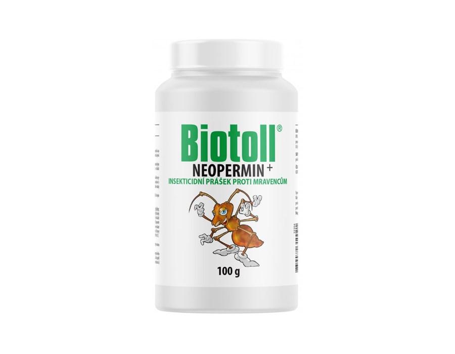 Biotoll - Neopermin 100g (Prášek proti mravencům)