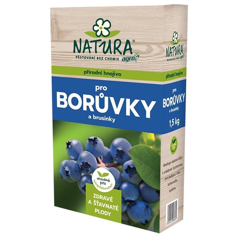 NATURA Přírodní hnojivo pro borůvky a brusinky 1,5kg