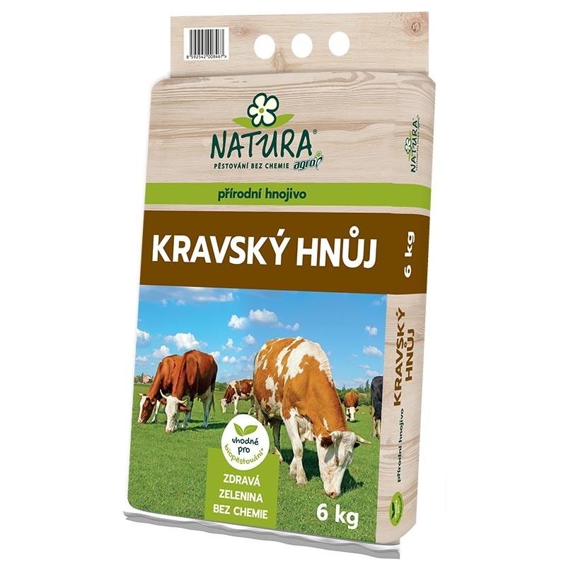 NATURA Kravský hnůj 6 kg