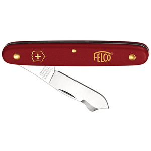 nůž Felco, očkovací nůž, ostří ocel, nůž na ovocné stromky