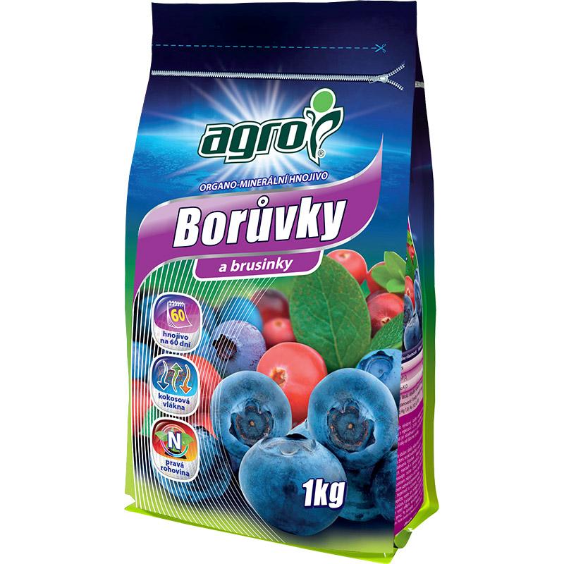 AGRO Organominerální hnojivo borůvky a brusinky 1 kg
