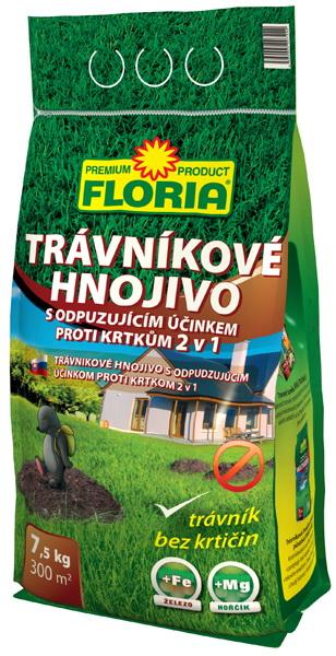 FLORIA trávníkové hnojivo proti krtkům 7,5 kg