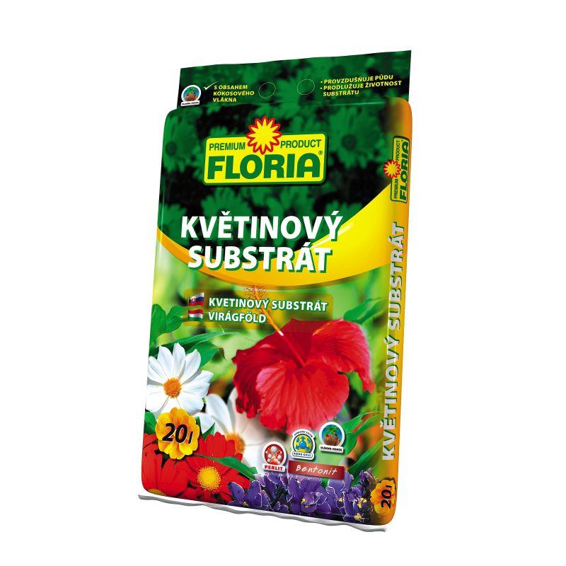 FLORIA Květinový substrát 20 l