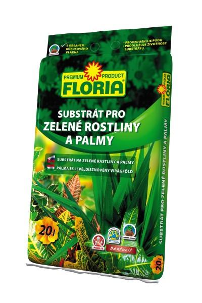 FLORIA substrát pro zelené rostliny 20 l