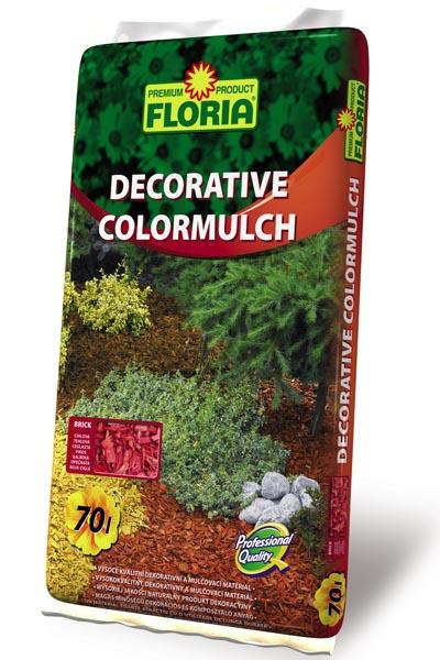 FLORIA Decor. ColorMulch cihlová 70 l