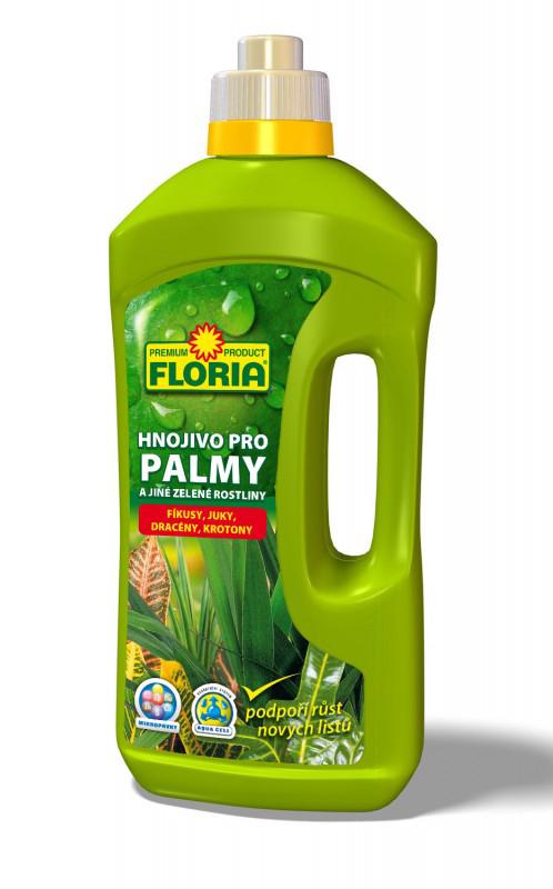 FLORIA kapalné hnojivo pro zelené rostliny a palmy 1 l