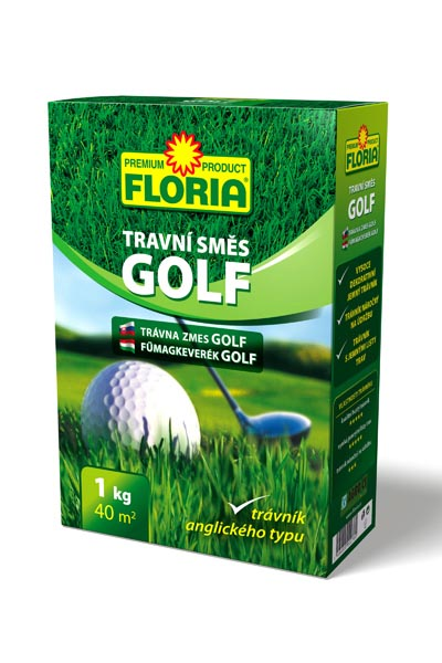 FLORIA Travní směs GOLF - krabička 1 kg