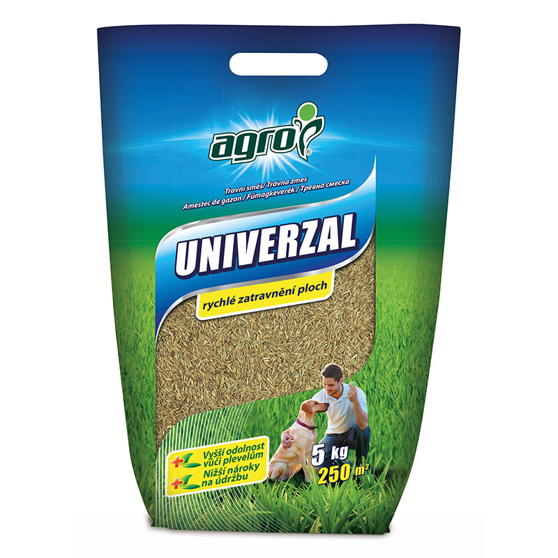 AGRO Travní směs UNIVERZÁL - taška 5 kg
