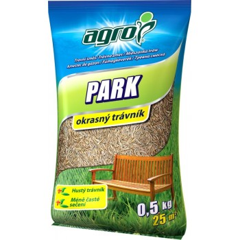 AGRO Travní směs PARK - sáček 0,5 kg