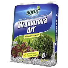 AGRO Mramorová drť 4 - 7 mm 5 l