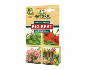 NATURA Big Beat tyčinkové hn. 12ks